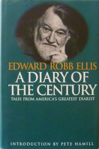 A Diary of the Century, Edward Robb Ellis